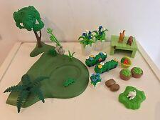 Lot Playmobil Verdure & Animaux