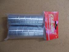 BMX stunt pegs , silver , 14mm , ( 1xpair) unthreaded