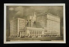 1930s Lawrence Hotel showing New Addition Reed Anshutz Manager Old Cars Erie PA