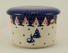 Bunzlauer Keramik Butterdose, Hermetic mit Wasserkühlung, französisch (M136-CHDK