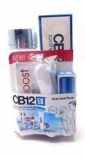 CB12 Oral Gift Pack -1 x  White Mouthwash,Toothpaste,Gum,Oral Spray & Toothbrush