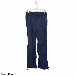 Marika Midnight Blue Dry Wik Joggers Drawstring Waist and Legs Size L Large