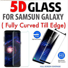 5D Full COVER Tempered Glass Screen Protector For Samsung Galaxy S9 PLUS-BLACK