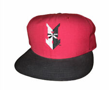 Vintage New Era MiLB Indianapolis Indians Adjustable Snapback Red Baseball Hat