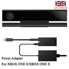 UK For Kinect 2.0 Sensor USB 3.0 Power Adapter Xbox One S Xbox One X & Windows #