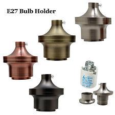 Modern Edison Screw Light Bulb Lamp Holder Pendant E27 Cap + Cord Grip