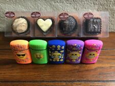 """4 Piece -  Candle Bougie """"Chocolate Scented/W 1 FREE EMOJI TORCH LIGHTER"""""""