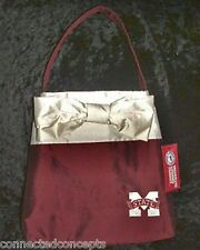 "Mississippi State University Bulldogs ""Michelle"" Silk Purse from LaShea NEW!"