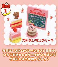 Re-Ment Miniature Sanrio Hello Kitty Dessert Sweets Cake Shop # 1