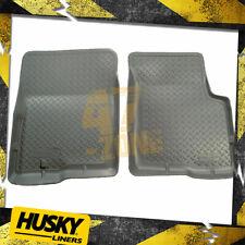 For 97-17 Ford E150 E250 E350 E450 E550 All Weather Floor Mat Set Front Gray
