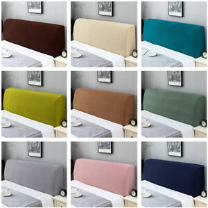 Soft Bed Head Cover Stretch Protector Cover Headboard Slipcover Dustproof