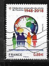 FRANCE oblitéré 2018 70 ans droits de l'Homme Y&T N° 5290