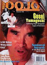12/95 BUDO DOJO  GOGEN GOSEI YAMAGUCHI BILL WALLACE KARATE MARTIAL ARTS KUNG FU