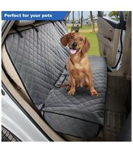 View Pets Back Bench Seat Cover Protector for Pets Waterproof Grey Open Box New