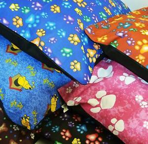Extra LARGE & Large Dog Bed Pet Mattress Cushion Machine Washable Zipped Cover