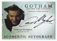 2016 Gotham Season 1 Cameron Monaghan as Jerome Valeska Autograph Card JOKER