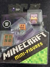 Minecraft Obsidian Series 4 Mini Figure 3-Pack