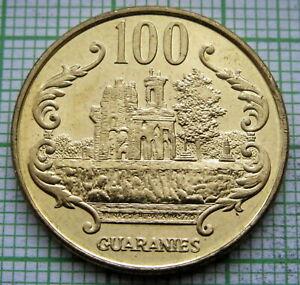 PARAGUAY 1996 100 GUARANIES, UNC