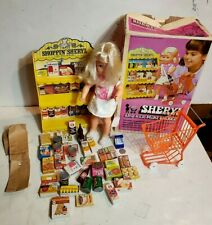 Sheryl and her Mini-Market vintage doll 1971 Mattel Shopping Helping Hands works