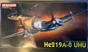 Dragon He219 A-0 UHU 1/72 scale