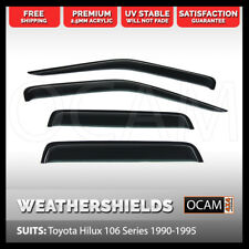 OCAM Weathershields for TOYOTA HILUX 106 Series 1990-1995 Tinted Window Visors