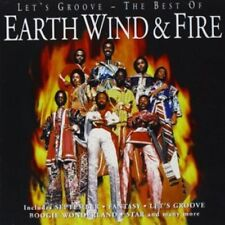EARTH, WIND & FIRE - LET'S GROOVE - THE BEST OF EARTH, WIND & [CD]