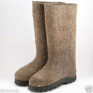 New Russian (Soviet) VALENKI (WALENKI) felt boots work winter footwear