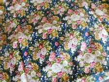 fabric poly cotton  floral