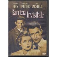 Barriera Invisibile DVD C Holm D Mcguire G Peck J Garfield Sigillato