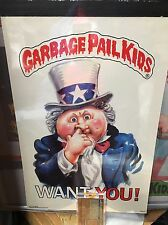 Garbage Pail Kids Poster Acetate Overlay Proof Sheets 1/1 Large Topps Vault Coa