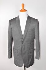 Indochino Mens Gray Nailhead Suit 100% Wool NWOT Size 42 W36
