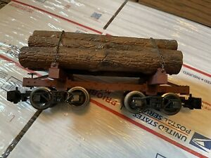 Bachmann G Scale Skeleton Log Car with Logs