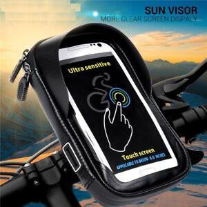 Motorbike Mobile Phone Holder Bag Waterproof Motorcycle Handlebar Mount Bag Case