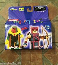 Marvel Minimates VISION 2.0 & HAWKEYE Wave 20 Young Avengers X-Men Spider-Man