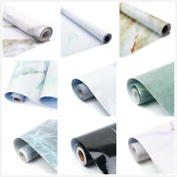 5M Marble Self Adhesive Contact Paper Kitchen Countertop Home Backsplash Sticker