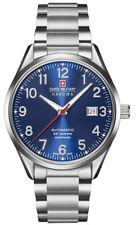 Swiss Military Hanowa helvetus 05-5287.04.007 señores Automatic reloj cristal zafiro
