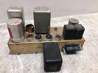 Vintage Tube Amp Chassis w/ Transformers w/o Tubes GUITAR COOL DIY MAKER BUILDER