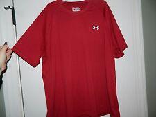 Men's Under Armour Burgundy Loose Fit Athletic Shirt Size Xl