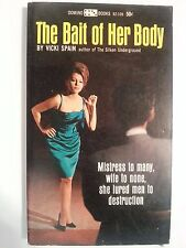 The Bait Of Her Body: Spain Lancer Domino 1966 Sleaze/Fiction/Adult E-67