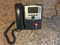 Unlocked Cisco Linksys SPA504G SPA 504G 4-line SIP IP Phone W/ DeskStand Power