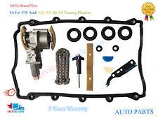 For VW Phaeton Touareg V8 4.2L Right Side Timing Chain Tensioner Kit 077109088C