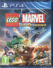 LEGO Marvel Super Heroes PS4 Game | BRAND NEW & SEALED | FREE POST