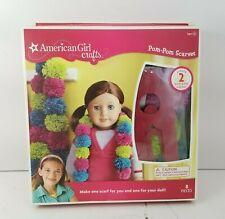 New American Girl Crafts Pom-Pom Scarves 8 Pieces
