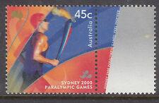AUSTRALIA 2000 Sydney Para Olympics with margin MUH(a)