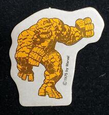 Vintage Amsco Marvel World Adventure Playset The Thing Ben Grimm 1975