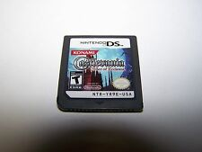 Castlevania Order of Ecclesia Nintendo DS Lite DSi XL 3DS 2DS Game