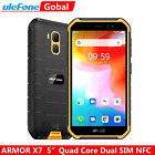 Ulefone Armor X7 Rugged Mobile Phone 4g Android 10 Quad Core Smartphone Unlocked