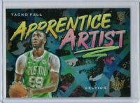 2019-20 Tacko Fall Panini Court Kings Apprentice Artist RC #18 Taco Rookie Card