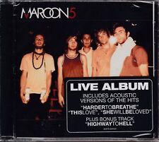 Maaroon 5 / Live Album - Acoustic Versions of the Hits (NEU! OVP)
