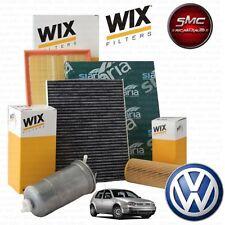 Kit tagliando 4 FILTRI WIX VW GOLF 4 IV 1.9 TDI 81 KW